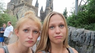 Universal Studios/WDW Vacation September 2016: Day 3, Pt 3 - Wizarding World of Harry Potter