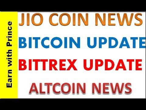 Jio Coin Official Update | Bittrex Update | Bitcoin News | Altcoin Update - (Hindi)