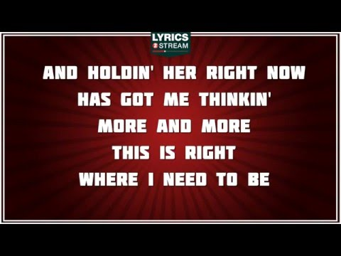 Gary Allan - Right Where I Need To Be Casey Beathard
