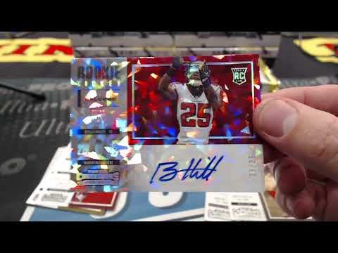 2017 Panini Contenders Football 6 Box Half Case Break #13 - 2018 NFL Rookie Round Up Live From LA!