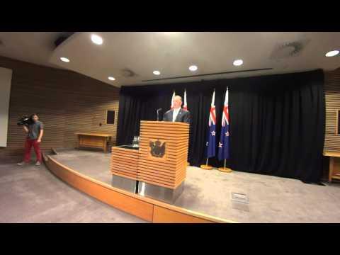 John Key Post-Cabinet 29/2/16
