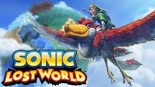 DLC: The Legend of Zelda Zone - Sonic Lost World (Pt-Br) - Wii U - CJBr