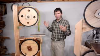 First homemade bandsaw: Things learned