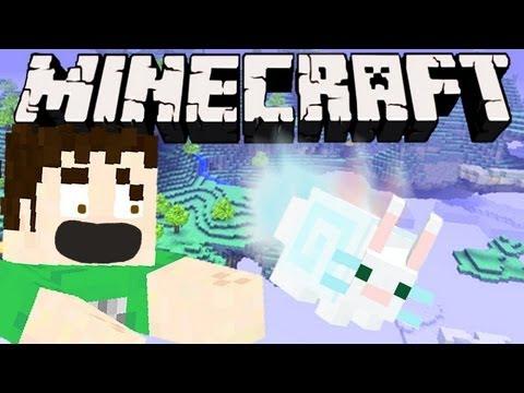 0 Minecraft   FLOATING BUNNY SUICIDE