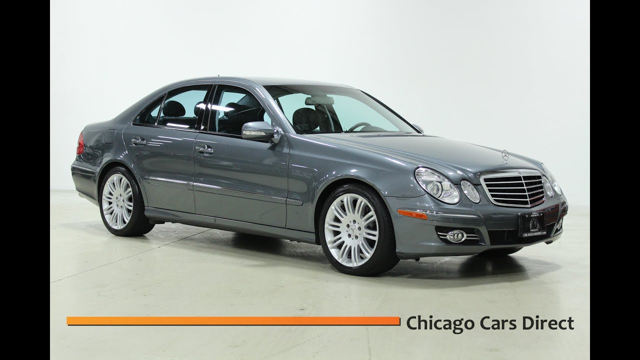 chicago cars direct presents this 2007 mercedes benz e350 sport sedan in high definition hd. Black Bedroom Furniture Sets. Home Design Ideas