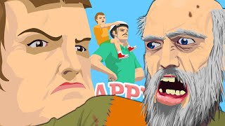 PIRAÑAS NOO!!! - Happy Wheels