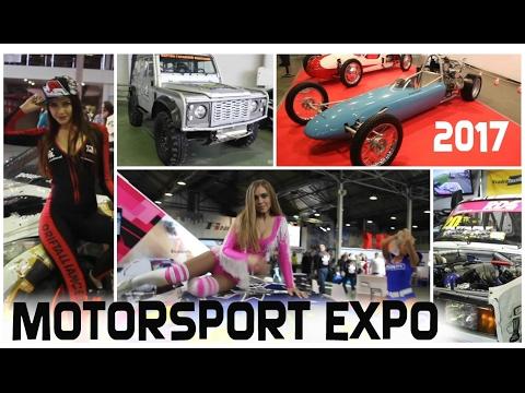 MOTORSPORT EXPO 2017. Первая российская выставка гоночной индустрии и технических видов спорта.