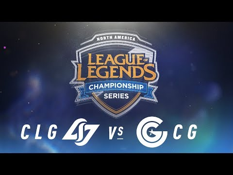 CLG vs. CG - Week 6 Day 1 | NA LCS Spring Split | Counter Logic Gaming vs. Clutch Gaming (2018)