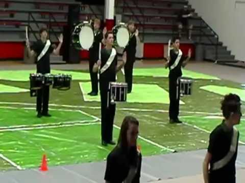 East Central, drum line. Harrison central high school. 2-2-13