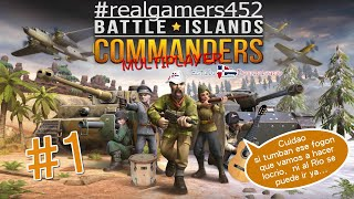 Battle Islands Commanders #1 Viejito Pero Gratis Español...  Directo.