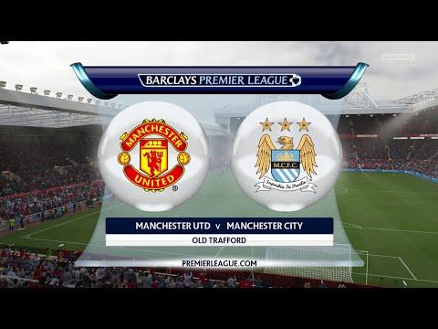 Fifa 15 - Man Utd vs Man City