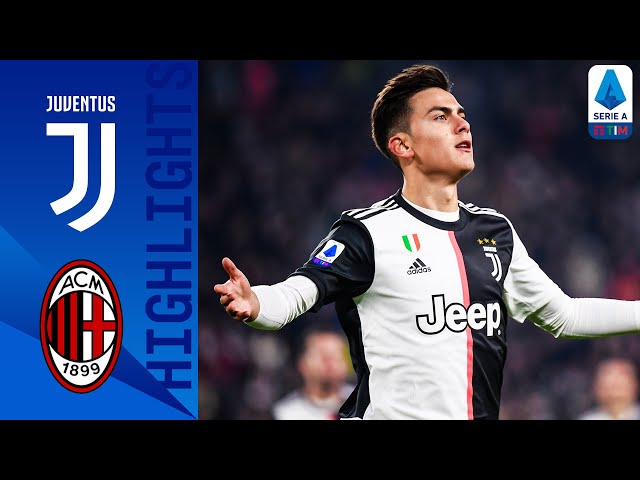 Juventus 1-0 Milan | Paulo Dybala Scores after CR7's Substitution! | Serie A thumbnail