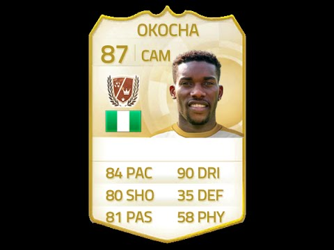 Fifa 15 legend jay jay okocha 87 player review amp in game stats