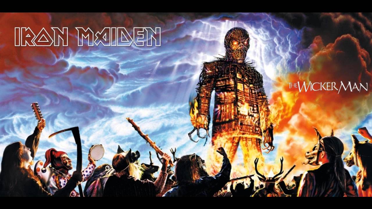 from Cade the wicker man single iron maiden