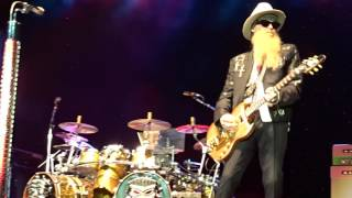 ZZ Top Sharp Dressed Man / Live aus Nürnberg 2016