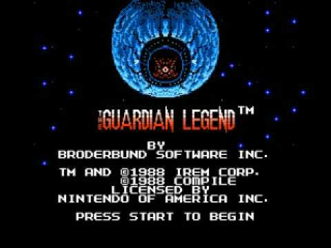 Misc Computer Games - The Guardian Legend - Boss 1 Theme