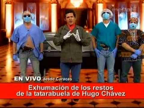 CHAVEZ Y LA EXHUMACION.