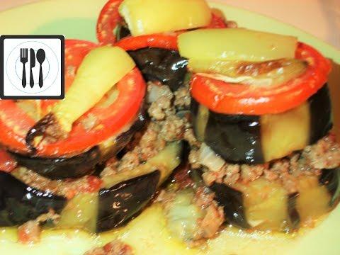 Баклажаны с фаршем в духовке - МУСАККА - Турецкая кухня | Patlıcan musakka oturtma