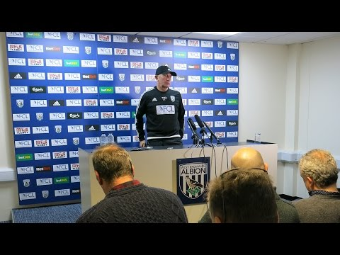 PRESS CONFERENCE: Tony Pulis previews Premier League fixture against Stoke City