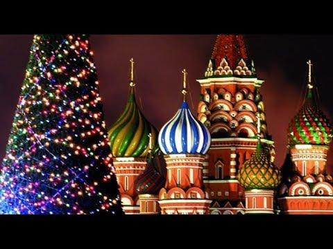 ❄Новогодняя ночная Москва! Путешествие в Рождество! New Year in Moscow. Merry Christmas Moscow 2018