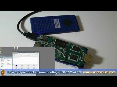 How to repair bricked UG802 Mini PC not booting