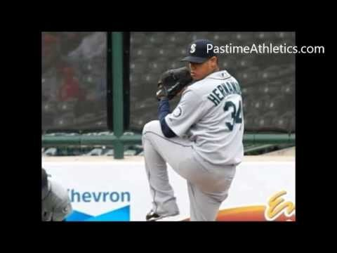 King Felix Hernandez NASTY CURVEBALL Pitching Mechanics Instruction Slow Motion 1000 FPS Seattle Mar