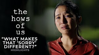"""What makes that 'sorry' different?"" 