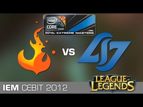 IEM Hanover League of Legends - CLG vs. CURSE