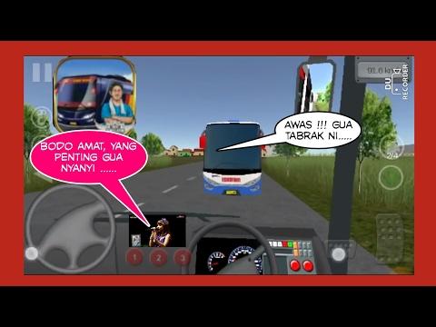 Bus simulator indonesia livery EKA Full Music Koplo #Game Android