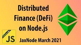 Distributed Finance on Node.js
