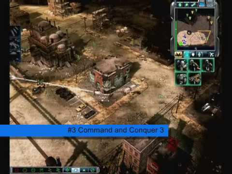 Top 5 PC RTS Games of 2007