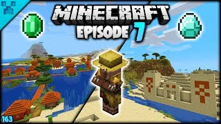 Minecraft Temple & Village MANIA | Pythons World (Minecraft Survival Let's Play S3 1.14) | Episode 7