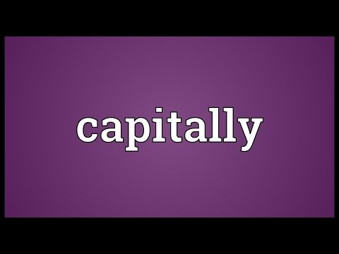 Header of capitally
