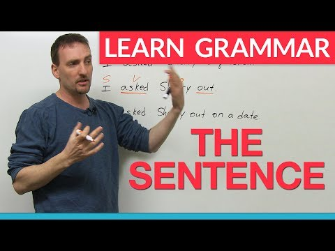 Learn English Grammar: The Sentence video