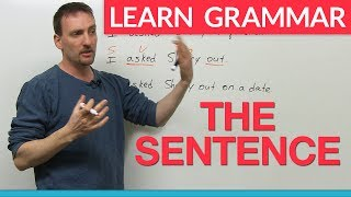 Learn English Grammar: The Sentence