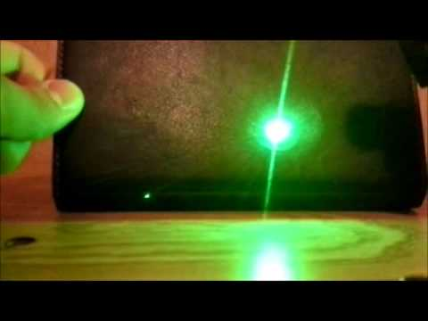 Sdlaser 301 5mw High Powered Laser Burning Review