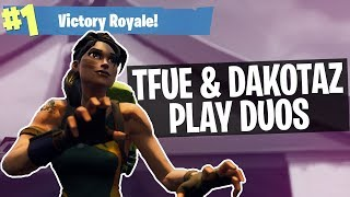 IMPULSE TRAP KILL WIN - Duos with Dakotaz! Full Gameplay (Fortnite Battle Royale)