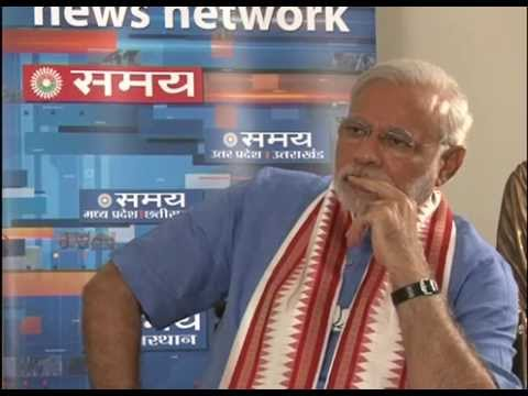 Shri Narendra Modi's interview with Samaya News