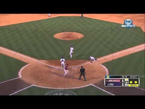 05/23/2013 Arkansas vs LSU Baseball Highlights