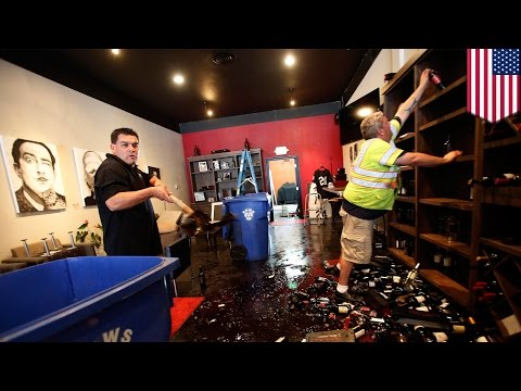 California earthquake wreaks havoc in Napa Valley