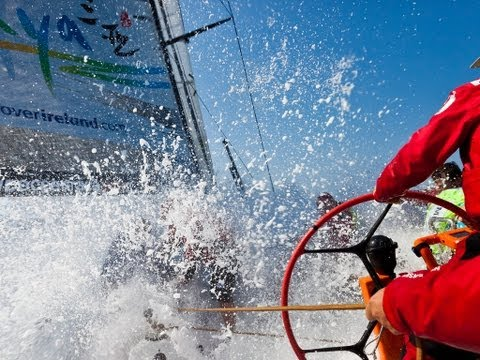 Calm before the storm - Volvo Ocean Race 2011-12