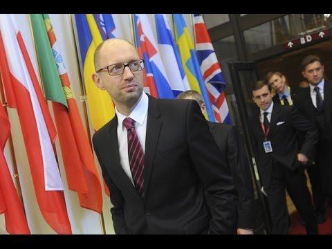 Ukraine PM says Russia wants to 'restore Soviet Union'