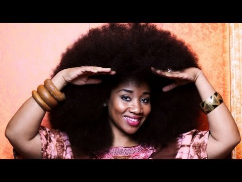 Biggest Afro Hair In The World - Guinness World Record