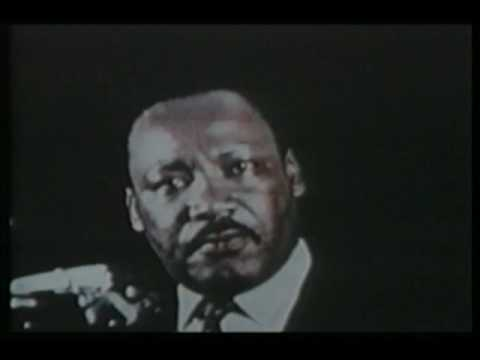 Martin Luther King Jr  racism And His Last Speech video