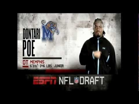 NFL Draft 2012 - Round 1 Pick #11 - Dontari Poe (Chiefs)