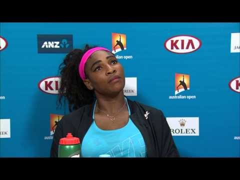 Serena Williams press conference (SF) - Australian Open 2015