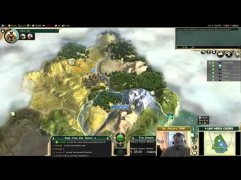 Civilization 5 Multiplayer 149: France [1/6] ( BNW 6 Player Free For All) Gameplay/Commentary