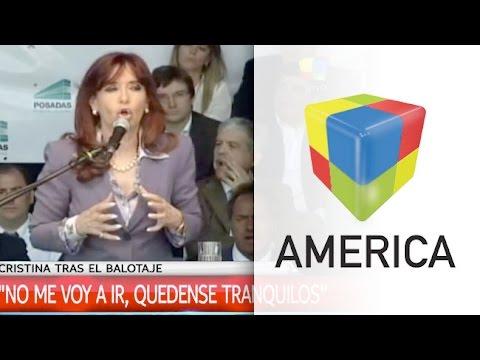 Cristina Kirchner: No me voy a ir, quédense tranquilos