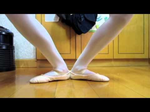 Ballet tutorials-How to improve your arches for ballet