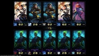 ONE FOR ALL - 5v5 Lux VS Brand!